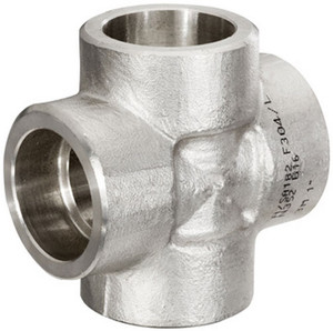 Smith Cooper 3000# Forged 316 Stainless Steel 1/4 in. Cross Fitting - Socket Weld