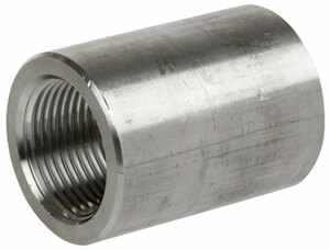 Smith Cooper 3000# Forged 316 Stainless Steel 3 in. Full Coupling Fitting - Threaded