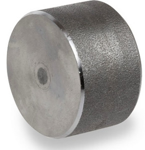 Smith Cooper 6000# Forged Carbon Steel 1 1/2 in. Cap Fitting - Socket Weld