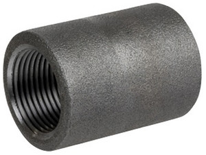 Smith Cooper 6000# Forged Carbon Steel 1/2 in. Coupling Fitting - Threaded
