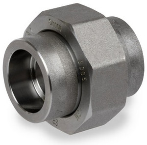 Smith Cooper 6000# Forged Carbon Steel 1 1/2 in. Union Fitting - Socket Weld
