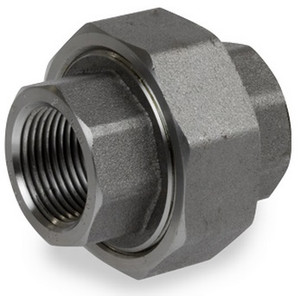 Smith Cooper 6000# Forged Carbon Steel 2 in. Union Fitting - Threaded