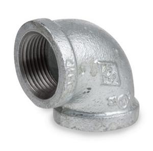 Smith Cooper 150# Galvanized Iron 1 1/2 in. 90° Elbow - Threaded