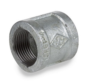 Smith Cooper 150# Galvanized Iron 1 in. Banded Coupling - Threaded