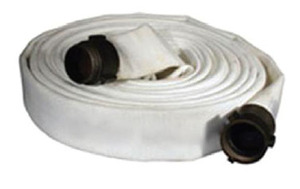 Dixon Powhatan 2 1/2 in. Double Jacket 800# Fire Hose NH (NST) Brass Couplings