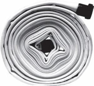 Dixon Powhatan 2.5 in. Double Jacket Mill Hose w/ NST Aluminum Couplings