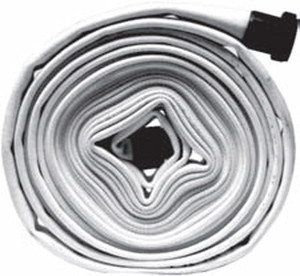 Dixon Powhatan 2.5 in. Double Jacket Mill Hose w/ NPSH Aluminum Couplings