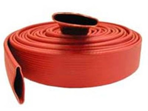 Dixon Powhatan 1 1/2 in. 500# Uncoupled Nitrile Covered Fire Hose