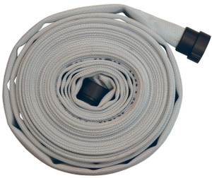 Dixon 1 1/2 in. UL Labeled 500# Rack Hose with NH (NST) Aluminum Combo Lug Ends
