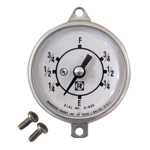 Rochester Gauge Standard Direct-Reading Replacement Dial for F7183 & F7283 Series Farm Tank Gauges