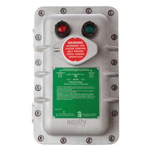 Scully ST-47 Groundhog Static Ground Proving Control Monitor w/ Lamps and Key Protected Bypass Switch