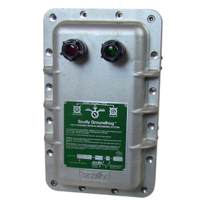 Scully ST-47 Groundhog Static Ground Proving Control Monitor w/ Lamps