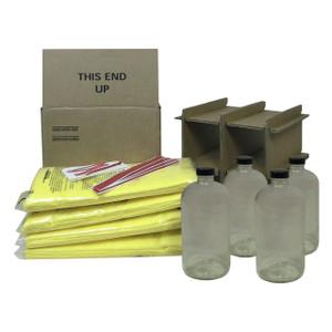 HAZMATPAC Four 32 oz. Bottle Packaging System