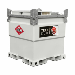Western Global 258 Gallon TransCube Transportable Fuel Storage Tanks - Aviation Fueling Package