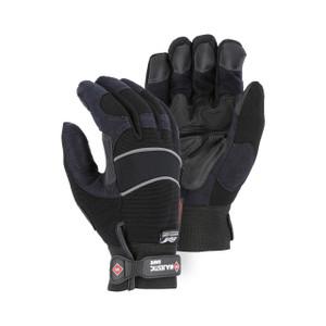 Majestic Armor Skin Winter Gloves (Black)