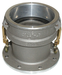 Dixon 4 in. Aluminum Coupler x 4 in. TTMA Flange