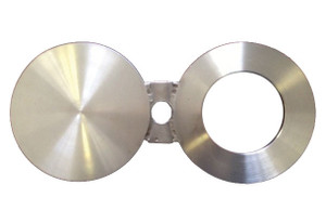 CDR 4 in. 304 Stainless Steel Spectacle Blind Flanges