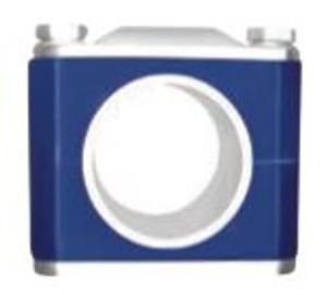 Dixon Sanitary B24V-WP Pipe Size Weld Plate Block Hangers
