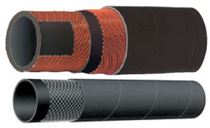 Kuriyama T253AA Alfagomma 3 in. x 100 ft. 150 PSI EPDM Water Discharge Hose - Hose Only
