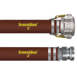 Kuriyama Ironsides 6 in. 115 PSI PVC Layflat Water Discharge Hose Assemblies w/ C x E Ends