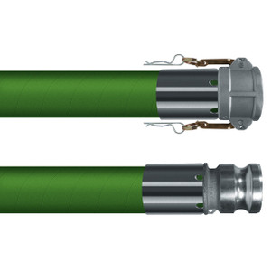 Kuriyama T505OG 3 in. 240 PSI Chemical Suction & Discharge Hose w/ C x E Ends