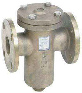 Sure Flow 150# Stainless Steel Flanged Basket Strainers - 40 Mesh