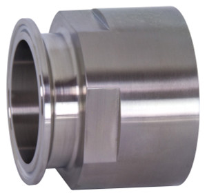 Dixon Sanitary 22MP Series 304 Stainless 3 in. Clamp x Female NPT Adapters