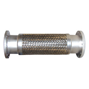4 in. Stainless Steel Braided Hose Assemblies w/ 150# Flange Ends