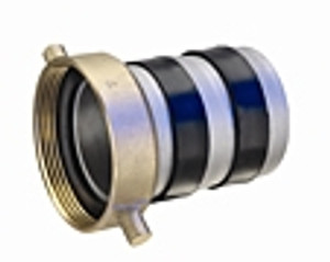 EZ Seal Aluminum Female Pin Lugs with Brass Swivel Nut