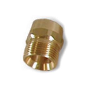 Suttner America Company ST-41 Series 1/4 in. FNPT x M22 Brass Screw Nipple