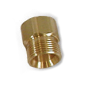 Suttner America Company ST-41 Series 3/8 in. FNPT x M22 Brass Screw Nipple