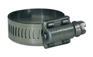 Dixon Aero-Seal Liner Style DLS with SS Band & 410 SS Screw - 10 QTY