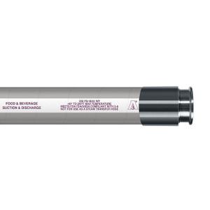 Novaflex 6300 FDA Nitrile Food Suction & Discharge Hose w/ Tri-Clamp Ends