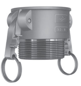 PT 1 1/2 in. Locking Stainless Steel Part D Coupler