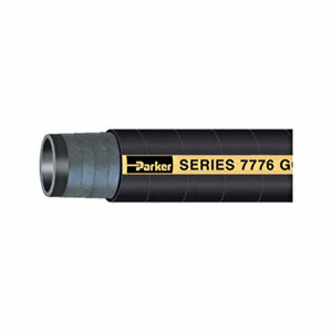 Parker Series 7776 Gold Label 1 1/2 in. Aircraft Fueling Hose Assemblies w/ Male NPT Ends