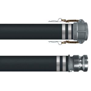 Kuriyama T902AA 150 PSI 3 in. Hot Air Blower Hose Assemblies w/ Female Coupler x Male Adapter Ends