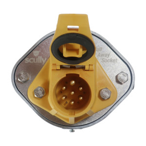 Scully Pull Away Plug Breakaway Socket for Thermistor
