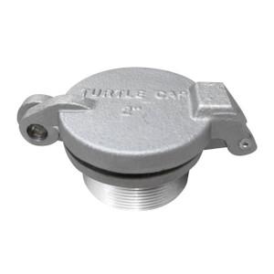JME 2 in. Male NPT Aluminum Fill Caps