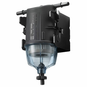 Parker Racor SNAPP One-Piece Snap-In Fuel Filter Water Separator Assembly w/ Bracket & Drain