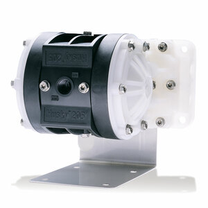 Husky 205 Air 1/4 in. Polypropylene Diaphragm Pump w/ Standard Air Valve & Santoprene Diaphragms