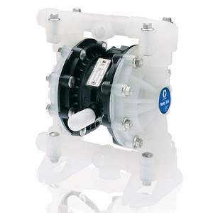 Husky 515 Polypropylene Air 1/2 in. Diaphragm Pump w/ Polypropylene Seats & PTFE Balls & Diaphragms