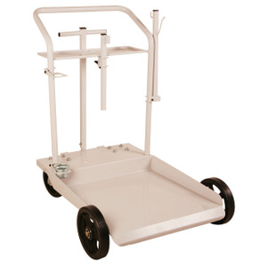 Liquidynamics 55 Gallon Four Wheel Drum Carts