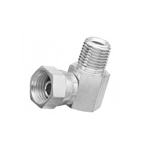 Balcrank 90° Rigid Swivel Union, 1/2 in.  NPT(F) x 1/2 in. NPS(F)