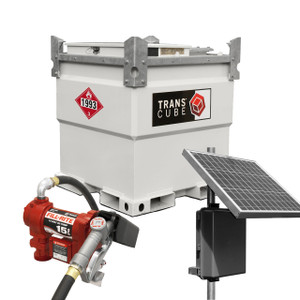Western Global 525 Gallon Transcube w/ Pump and Solar Package