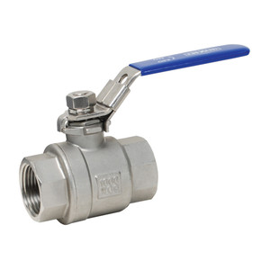 Dixon 1 1/2 in. NPT Stainless Steel Ball Valve w/ Locking Handle - Full Port