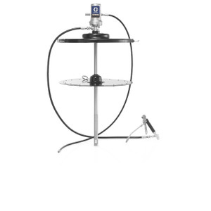 Graco LD Series 50:1 Air-Powered Grease Pump Package For 120lb Drum w/ Cart