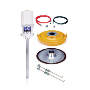 Graco Fire-Ball 425 50:1 Specialty Grease Pump Package for 120 Lb Container