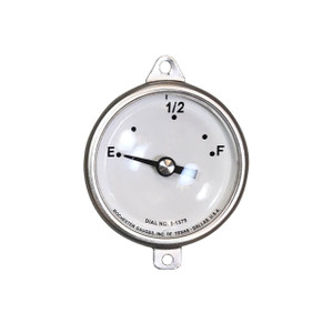 Rochester Gauges Replacement Senior Direct-Reading Fractional Dial for Adjustable Length 6500 Series Gauge