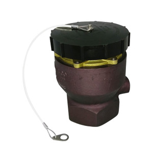 Fjord Aviation 2 1/2 in. 3-Lug Fuel Loading Adapter Dust Cover