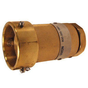 Dixon 1 in. Brass Dry Disconnect Coupler x Female NPT